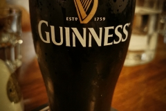 First of all: Let's have a Guiness