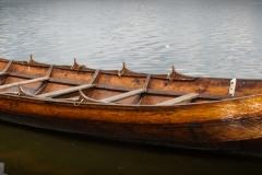 kleines Wikingerboot